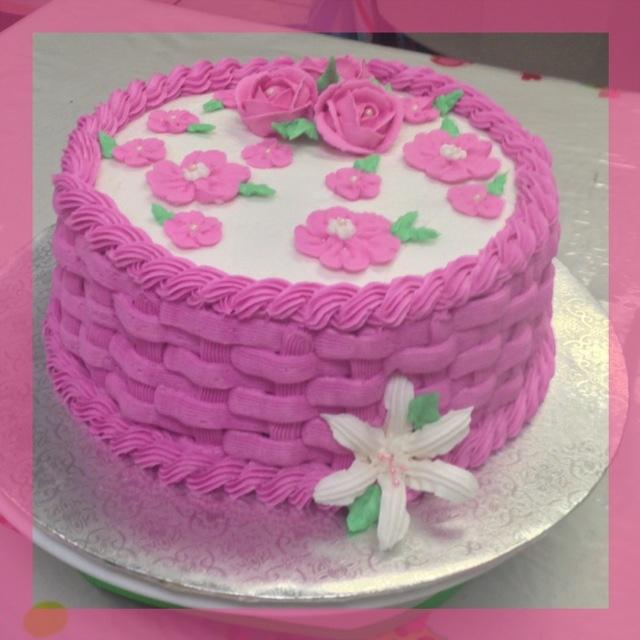 Basket Weaving A Cake : Basket weave cake decorating class