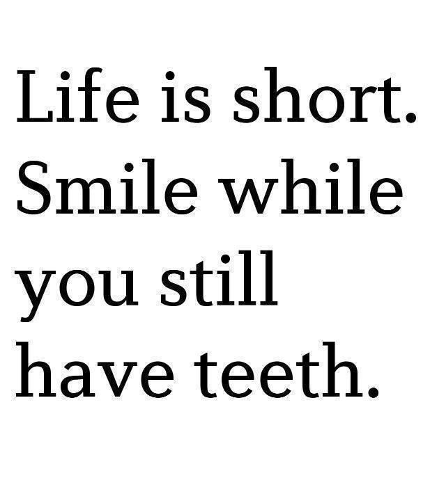 Quotes About Smiles And Teeth Brain Quotes