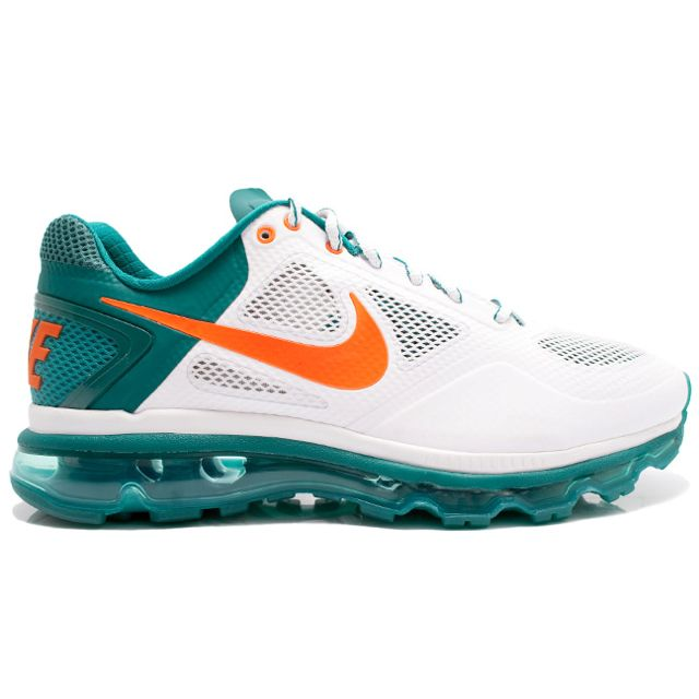 Miami Dolphin Colored Tennis Shoes