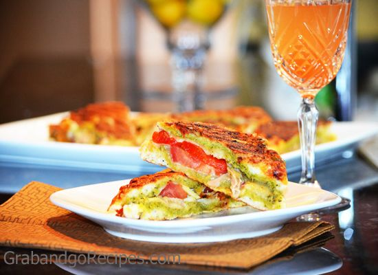 Chicken and Roasted Red Pepper Panini with Havarti Cheese- This sounds ...