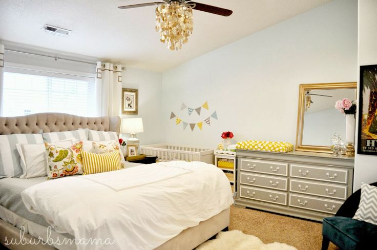 Nurseries In The Master Bedroom Small Space Solutions