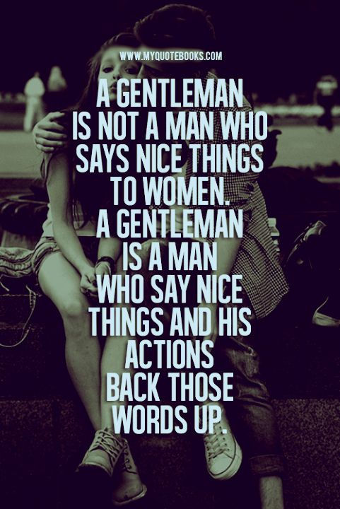 guide to be a gentleman