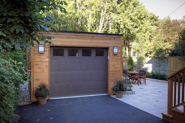 Detached Garage Patio Projects Pinterest