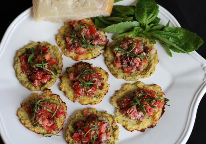 Mini Cauliflower Crusts | Low Carb Recipes | Pinterest