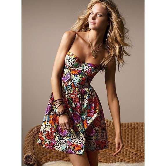 New Victoria Secret Moda International Bustier Dress
