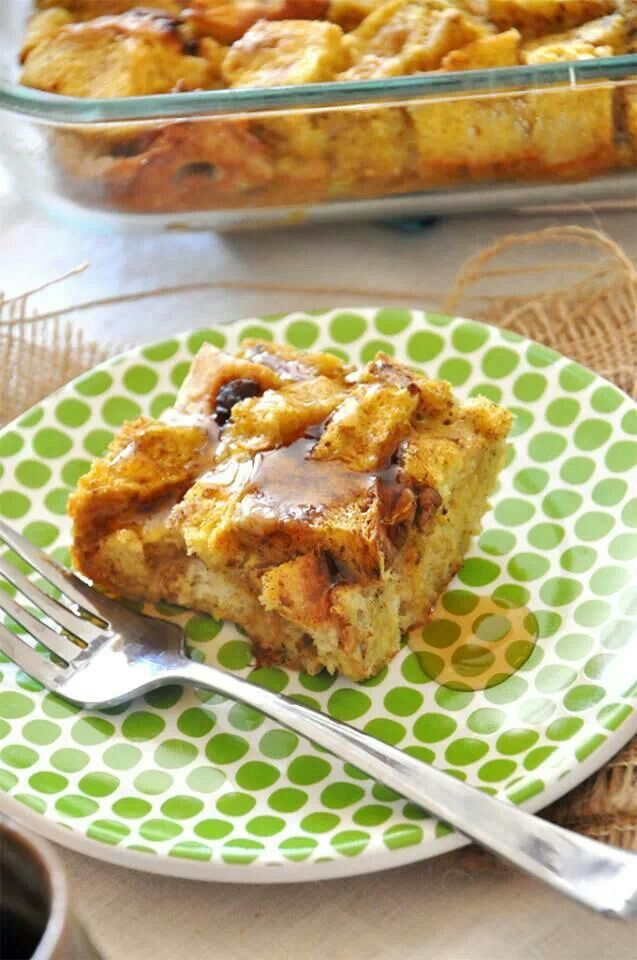 Pumpkin french toast bake | Reciept | Pinterest