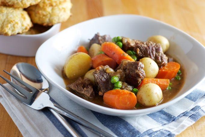 Beer-Braised Beef Stew | Healthy Food / Quick Meals | Pinterest