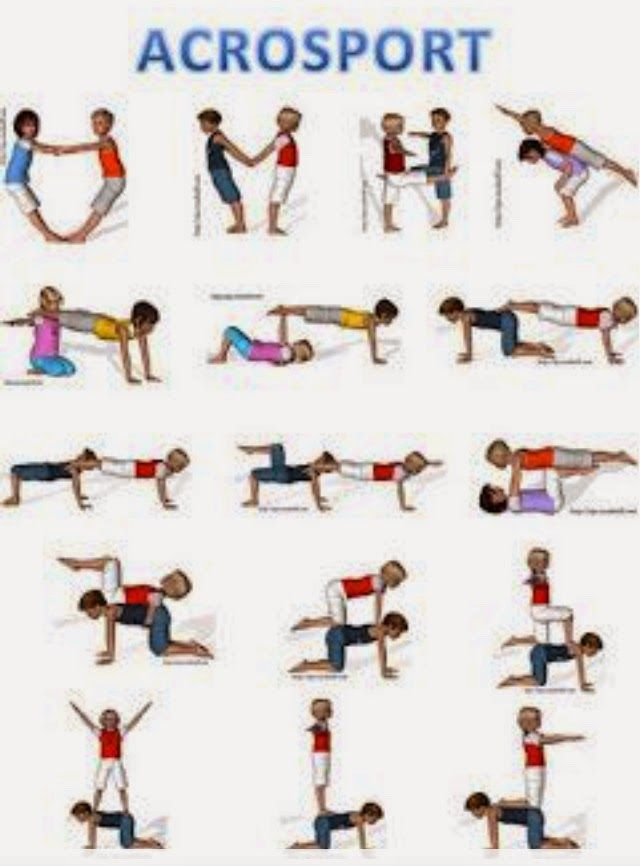 25 Best Ideas About Partner Yoga On