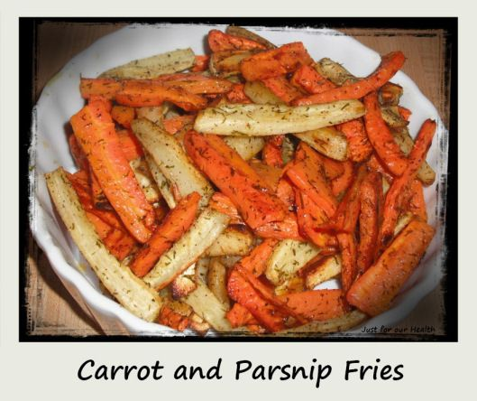 Carrot-and-Parsnip-Fries | Whole 30 | Pinterest