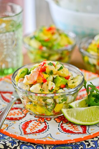 Tropical Shrimp and Scallop Ceviche by Full Fork Ahead, originally by ...
