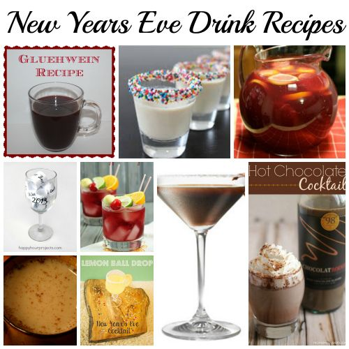 new years eve shots recipes