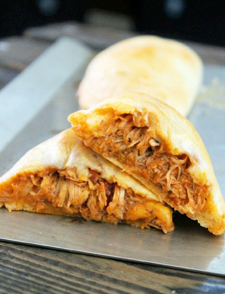 Easy Buffalo Chicken Biscuit Empanadas | Chicken Dishes | Pinterest