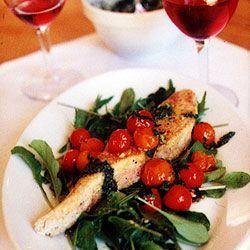 Seared Salmon with Salsa Verde Recipe - Saveur.com