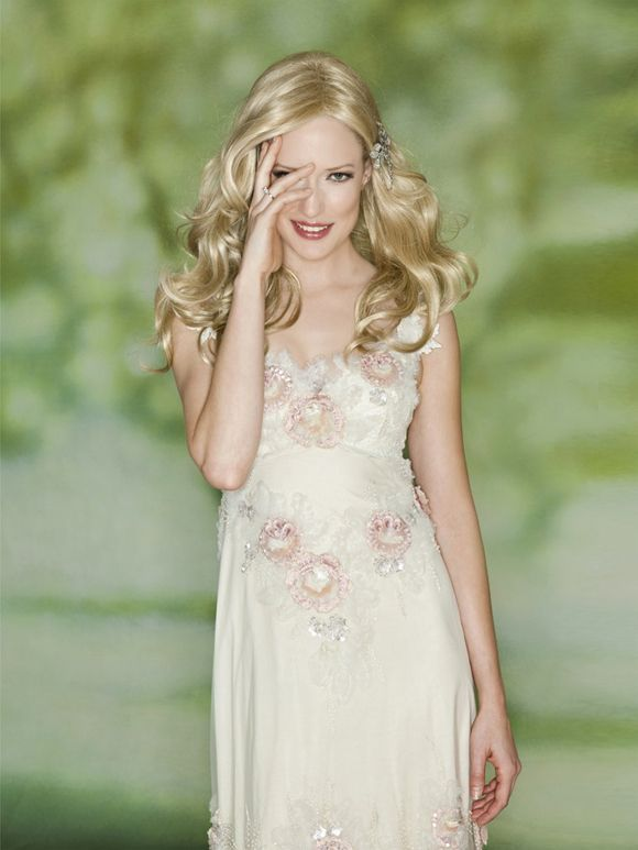 Love this wedding inspiration hair pinterest for Romantic ethereal wedding dresses