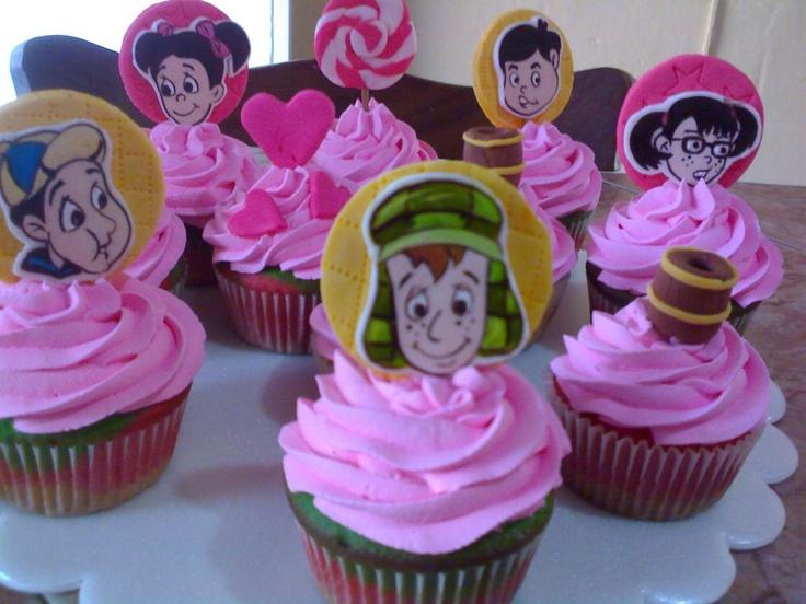 ponquesitos decorados El chavo del ocho,-cupcake decorated El Chavo del Ocho