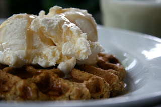 Oatmeal Peanut Butter Cookie Waffle. GF | ALL HEALTHY RECIPES | Pinte ...