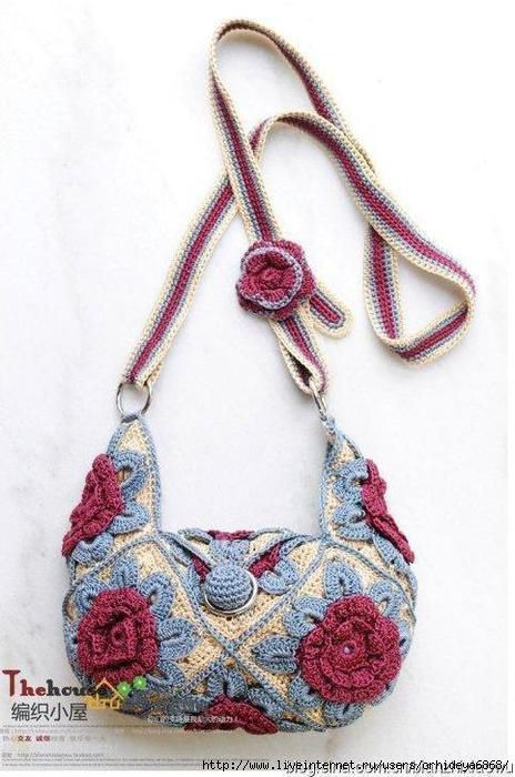 Beautiful Crochet Bags : INCREDIBLY BEAUTIFUL BAGS, crochet Crochet Patterns Pinterest