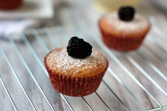 Glazed Blackberry-Lime Cupcakes | Bake It & Make It | Pinterest