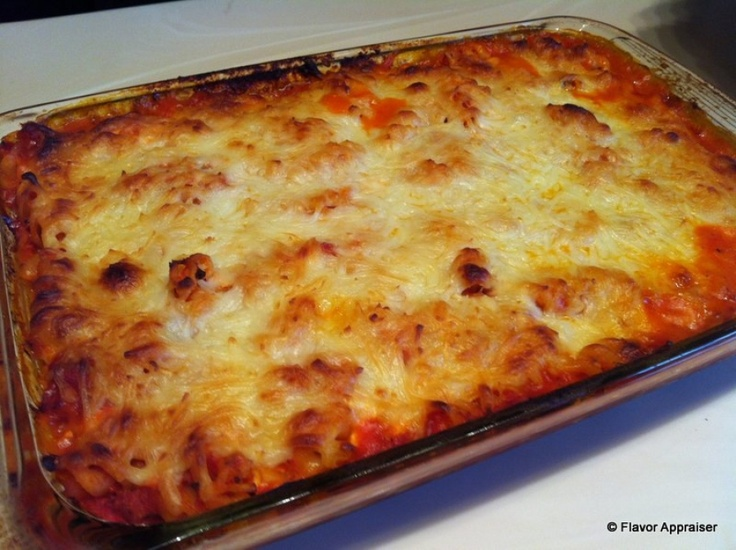 Simple Baked Pasta Dish | Yummy | Pinterest