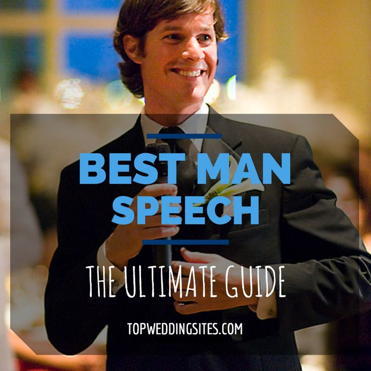 Internet dating best man speech