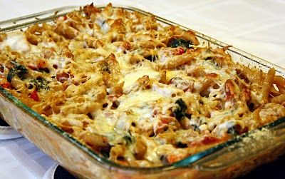 baked pasta with chicken sausage - making this for dinner tonight! but ...