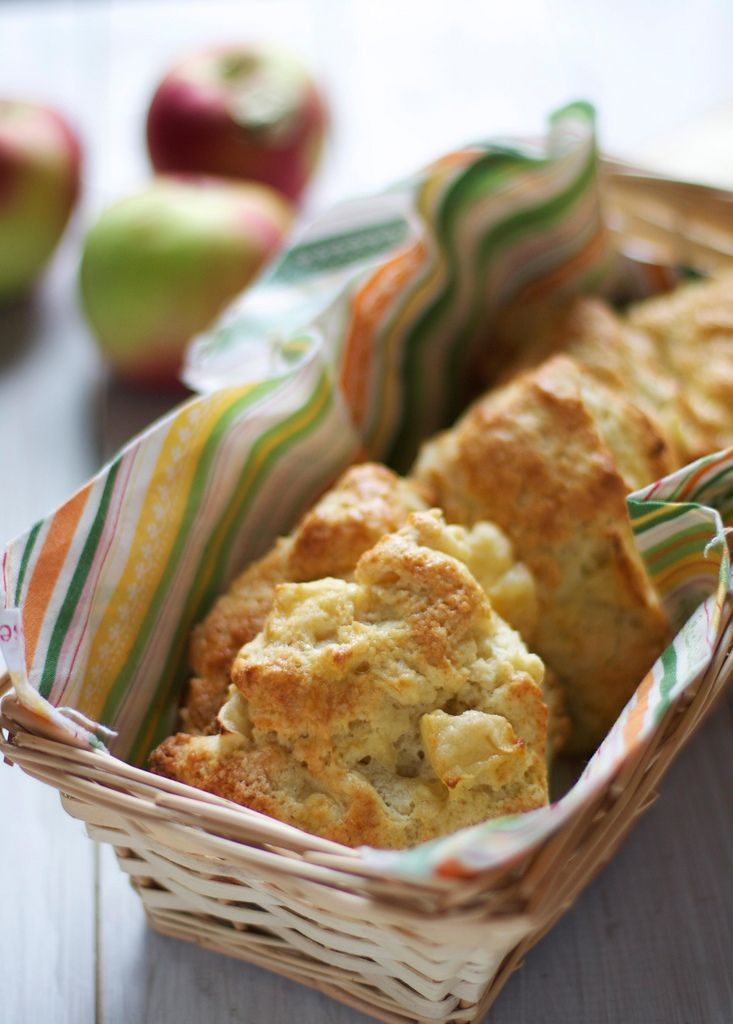 ... Start your fall baking with The Baker Chick's apple cheddar scones