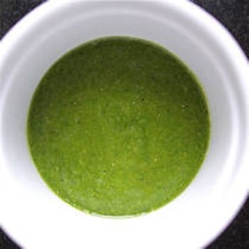 Recipe: Fresh Basil Vinaigrette ] Made with: basil, olive oil (high ...