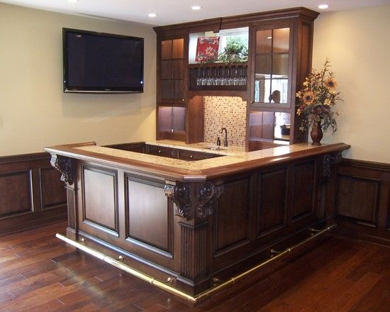 Small Corner Basement Bar Love It For The Home Pinterest