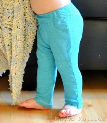 baby leggings tutorial