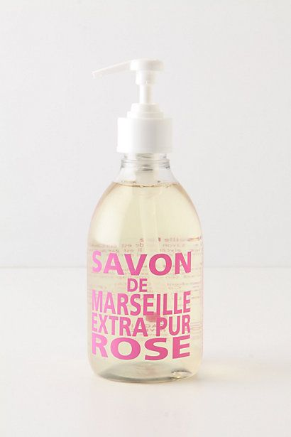 Savon De Marseille Hand Soap - Anthropologie.com