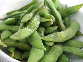 Garlic butter edamame | Favorite Recipes | Pinterest