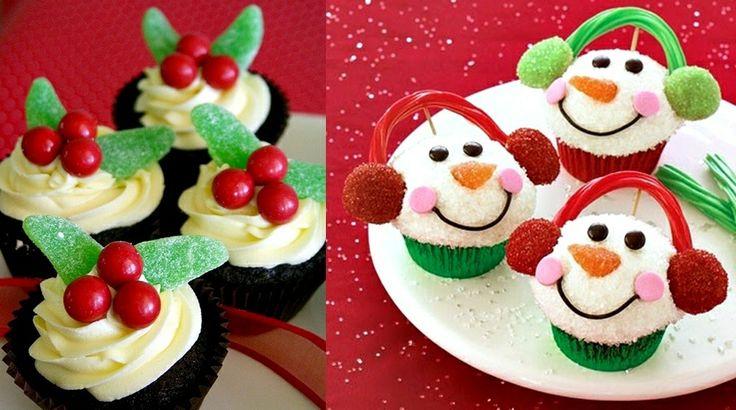 Christmas desserts.