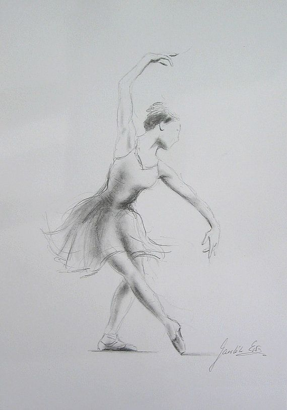 ballerina pencil drawing - photo #12