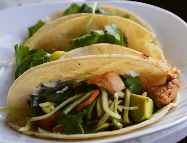 Lime Chicken Soft Tacos - yummy | Nom Nom | Pinterest