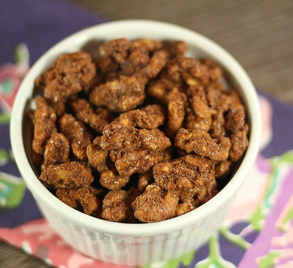 Cocoa, Cayenne and Espresso Roasted Walnuts | Recipe