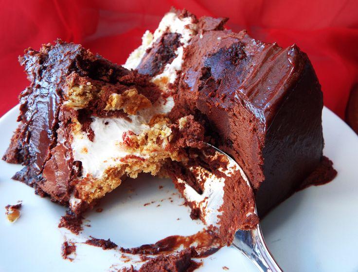 Giant S'mores Cookies Recipe — Dishmaps