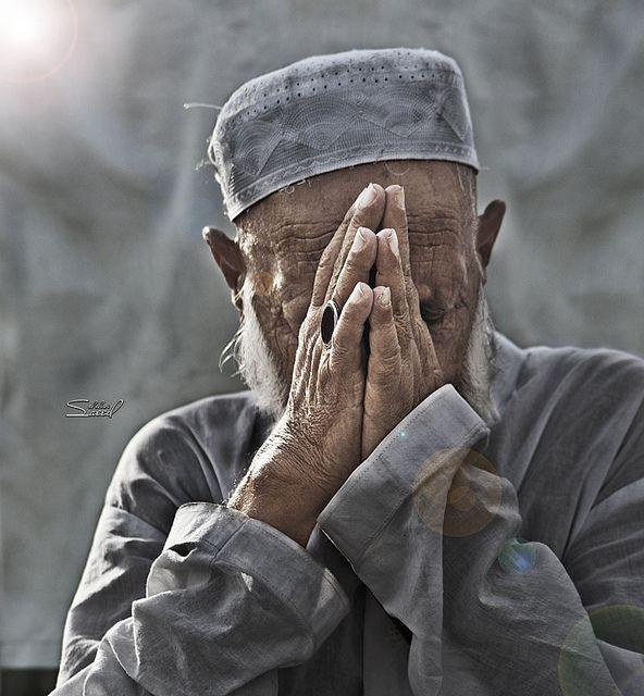 Wow! Old man Po...