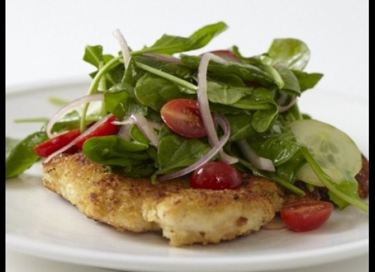Grilled Tuna Over Arugula With Lemon Vinaigrette Recipes — Dishmaps