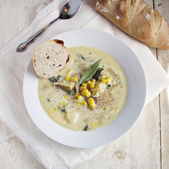 Corn & Potato Chowder | Soups - Seafood / Chowders | Pinterest