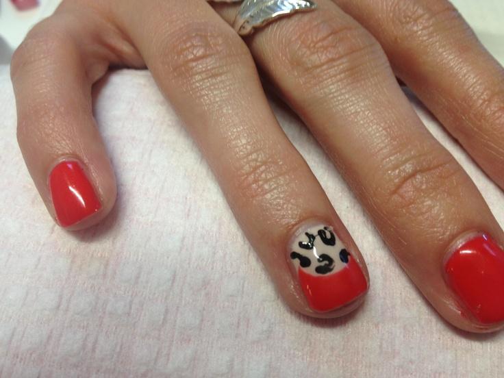 Gel nail design | nails | Pinterest