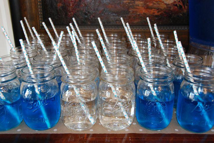 blue baby shower punch danielle 39 s baby shower pinterest