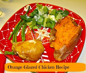 Baked orange glazed chicken | what's for dinner? | Pinterest