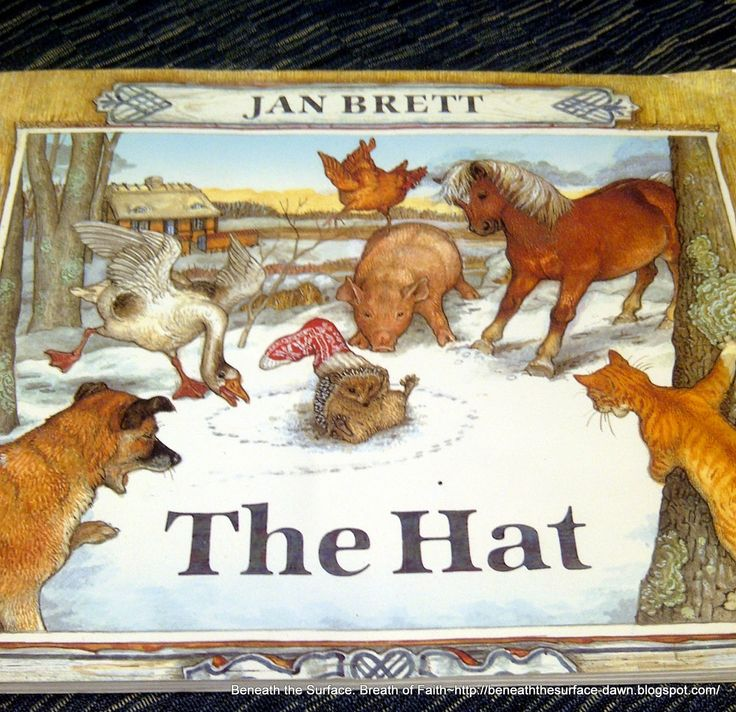 The Hat, by Jan Brett | Talking Animals - Hedgies, etc. | Pinterest