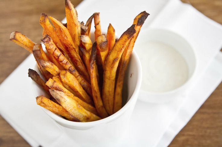 Baked Chipotle Sweet Potato Fries | Recipe