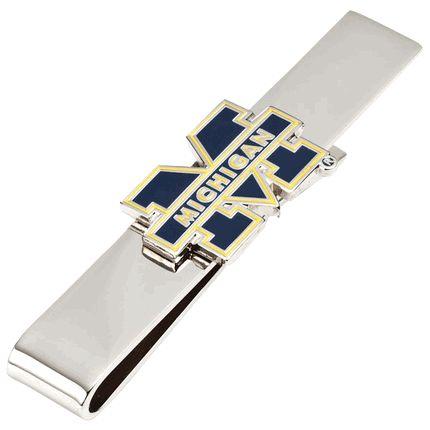University Of Michigan Wolverines Tie Bar