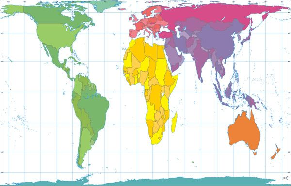 Peters Projection world map Floating My Boat Pinterest