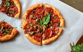 Pizza Hut Style Pan Pizza Crust {Gluten Free} - recommended by a ...
