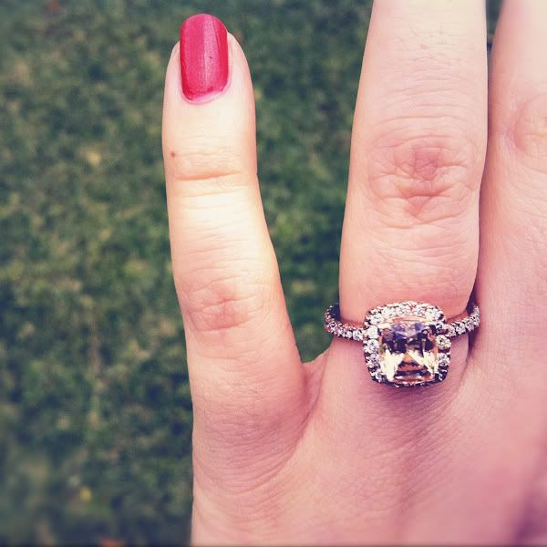 Pinterest Wedding Rings Peach Sapphire Engagement Ring Sweet Wedding Ideas Pinterest