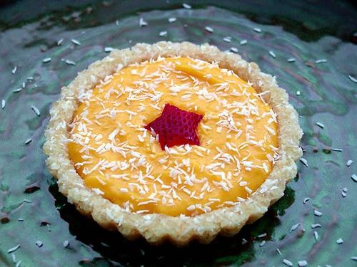 Mango Macadamia Coconut Pie | Perfect Pies! | Pinterest