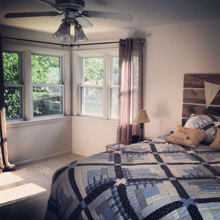 Corner Window Master Bedroom Home Pinterest